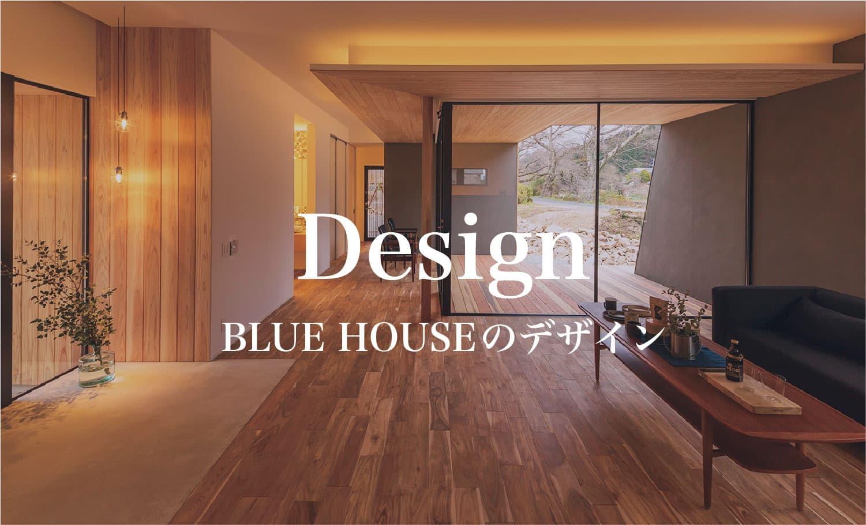 ブルーハウスのデザイン