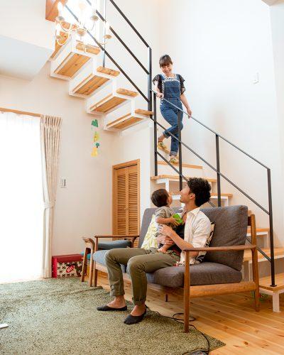 子育てがしやすい家の事例