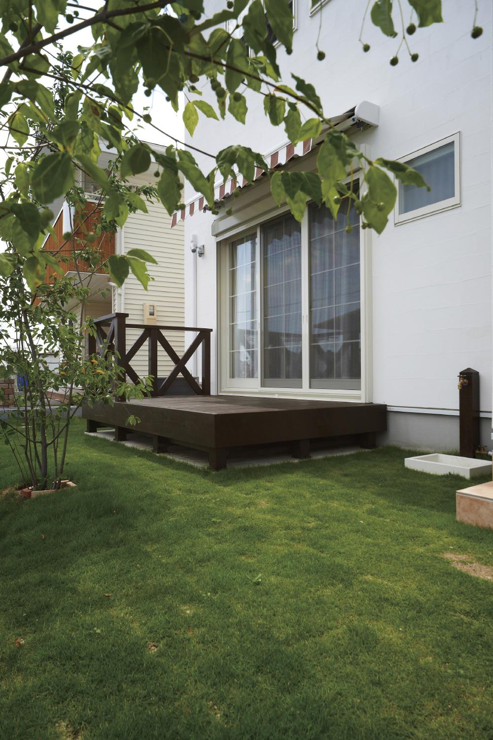 一戸建てなら庭もつくれる