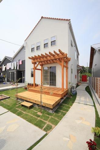敷地に建物、庭、駐車場をどう配置するかがキモです