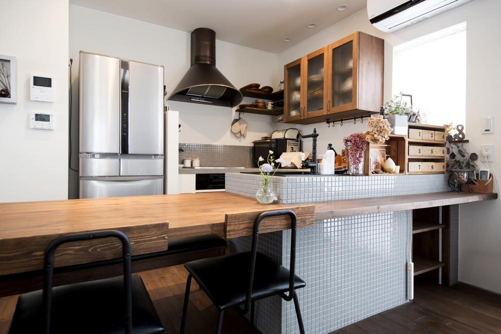 新築のキッチン収納アイデア