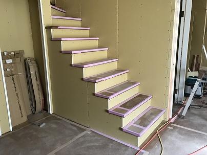 階段作成!