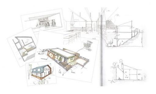 住宅デザイン画のイメージ