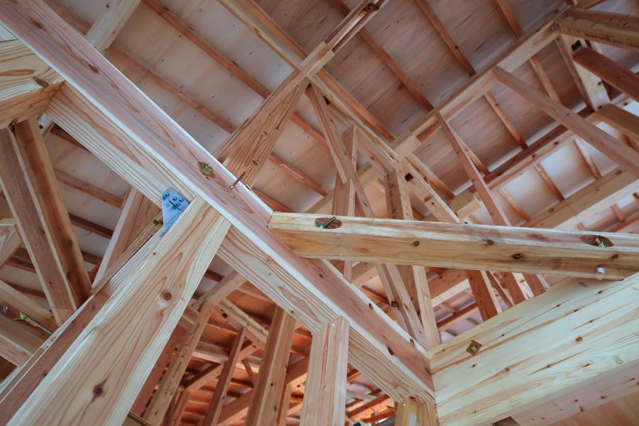 木造住宅の構造見学会のイメージ