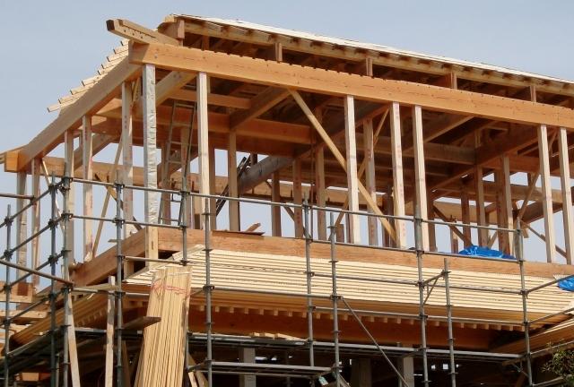 木工事の様子
