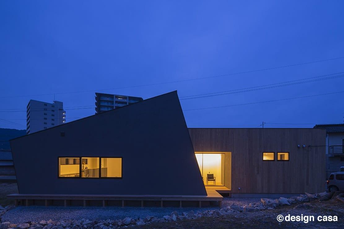 愛知・名古屋近市の都市と自然の境界線で暮らす平屋