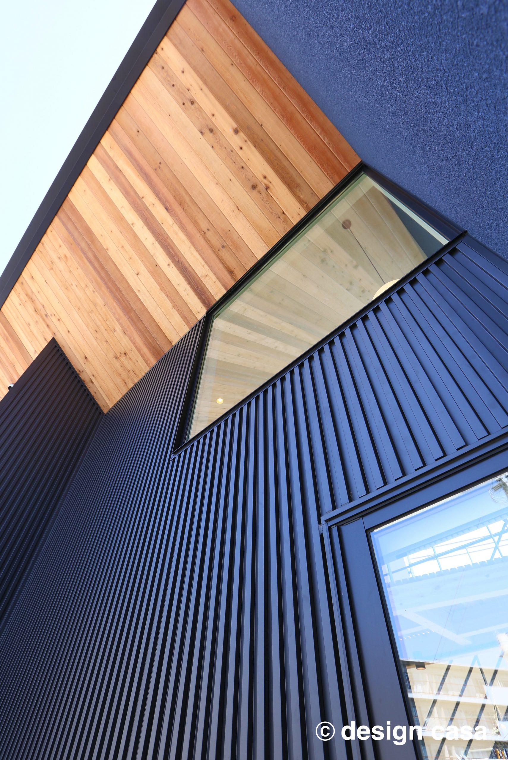 ガルバリウム鋼板のサイディングの事例:耐久性とデザイン性も高い家づくりができる