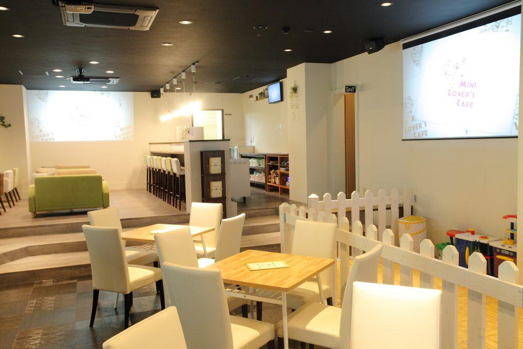 自然素材のやさしさが映えるカフェ店舗リノベーション_フロア