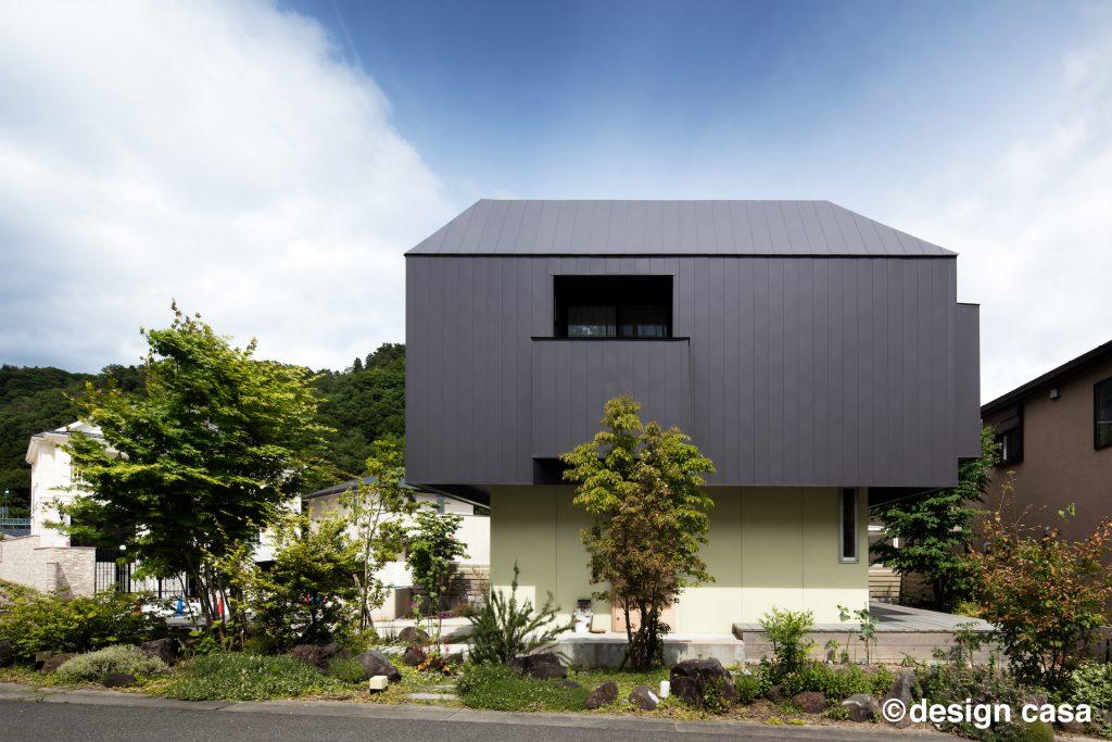 愛知・名古屋で建築家と建てる家の外観事例