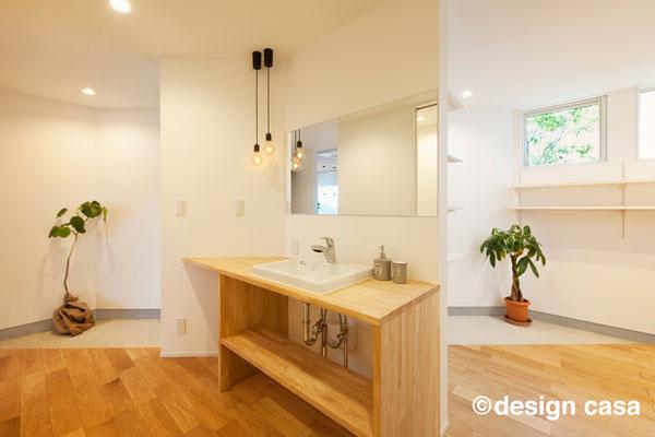 玄関の手洗い場