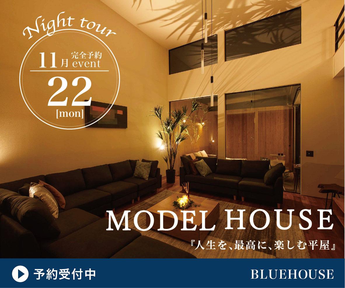 豊橋平屋モデルハウスナイトツアー