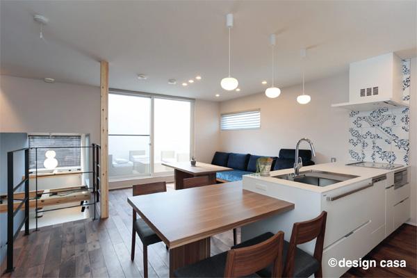 新築キッチンデザイン実例